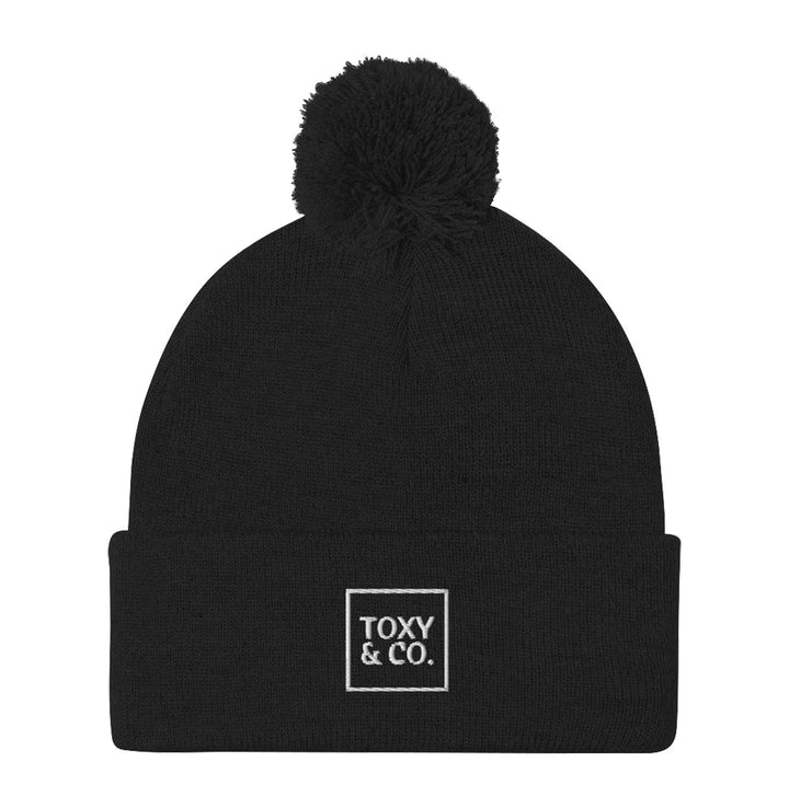 Toxy & Co. Pom Beanie, Black