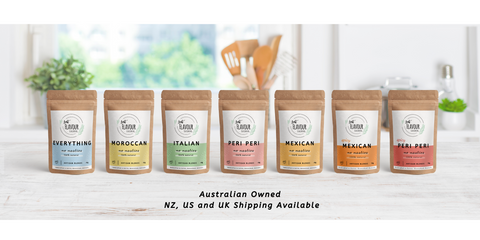 just flavour seasoning blends cooking chef foodie support local business australia