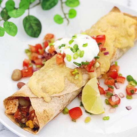 Mexican chicken enchilada recipe just flavour healthy