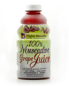 Mighty Muscadine Grape Juice 32oz
