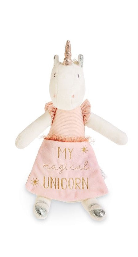 Ivory Unicorn Doll Book