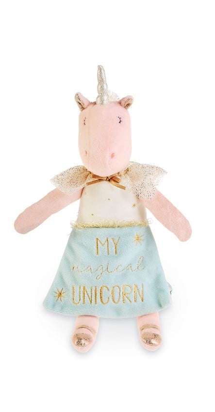 Pink Unicorn Doll Book