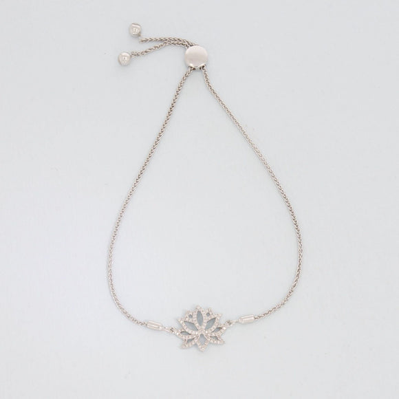 Blooming Lotus Bracelet