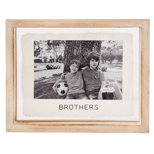 Brothers Glass Frame