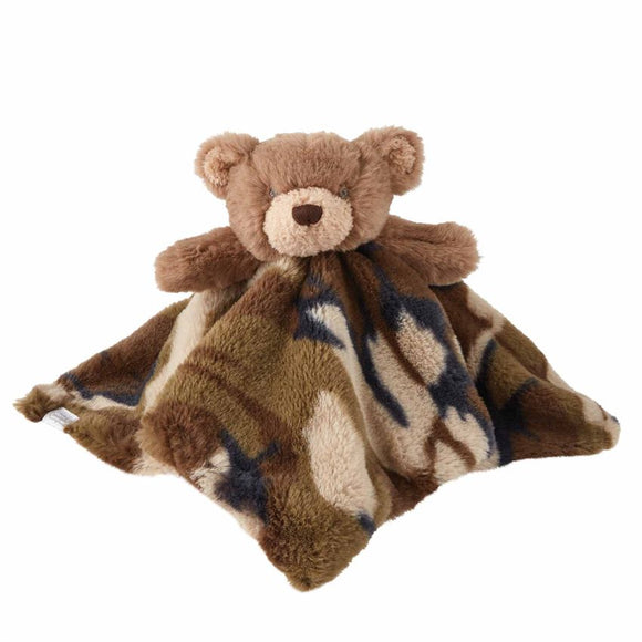 Camo Bear Plush Woobie