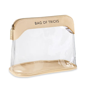 Clear Make-Up Bag Nude