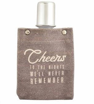Canvas Flask With Shot Glass