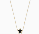 Jae Star Black Druzy Necklace
