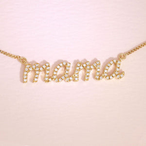 Love You Mama Necklace