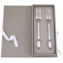 Load image into Gallery viewer, Mr. & Mrs. Wedding Fork Set