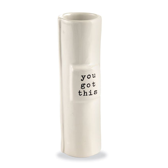 You Got This Stem Vase