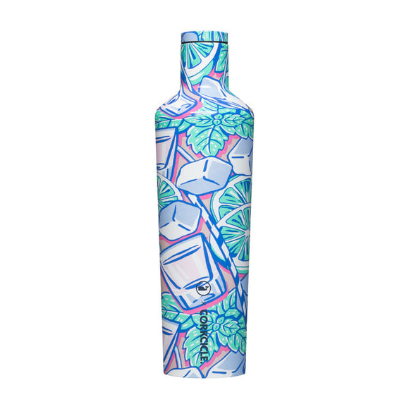 Vineyard Vines Mint Julip 25 Oz Canteen