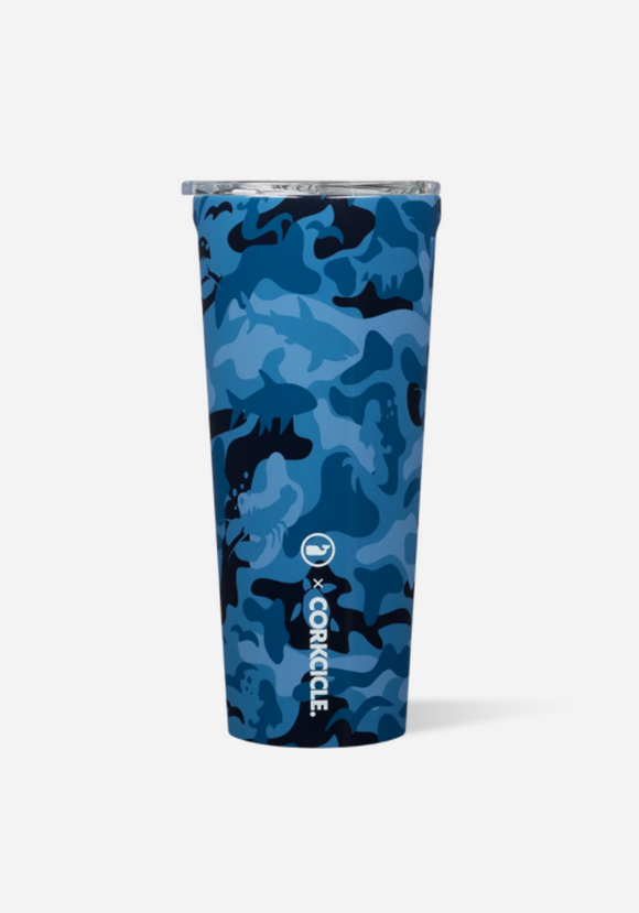 Vineyard Vines Blue Camo 24 Oz Tumbler
