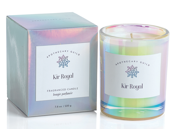 Luster Candle Kir Royal