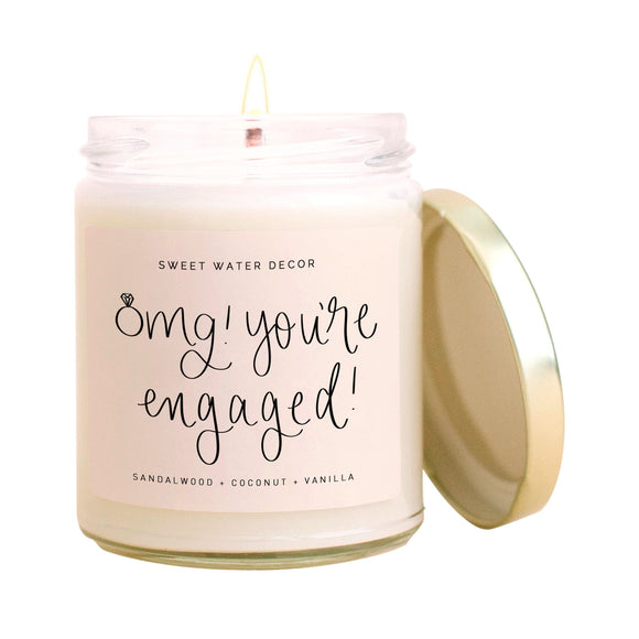 Omg You're Engaged! Soy Candle