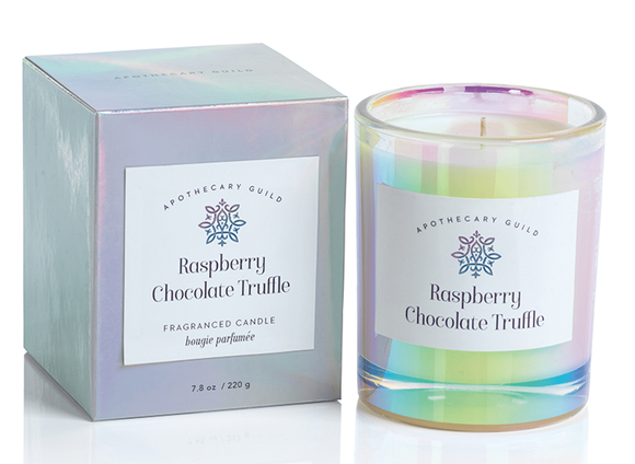 Raspberry Chocolate Truffle Candle