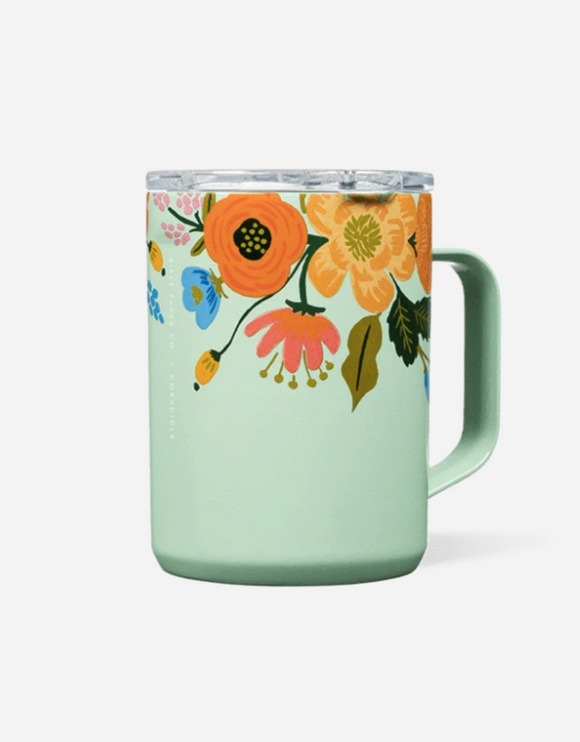 Rifle Paper 16 Oz Mug Mint