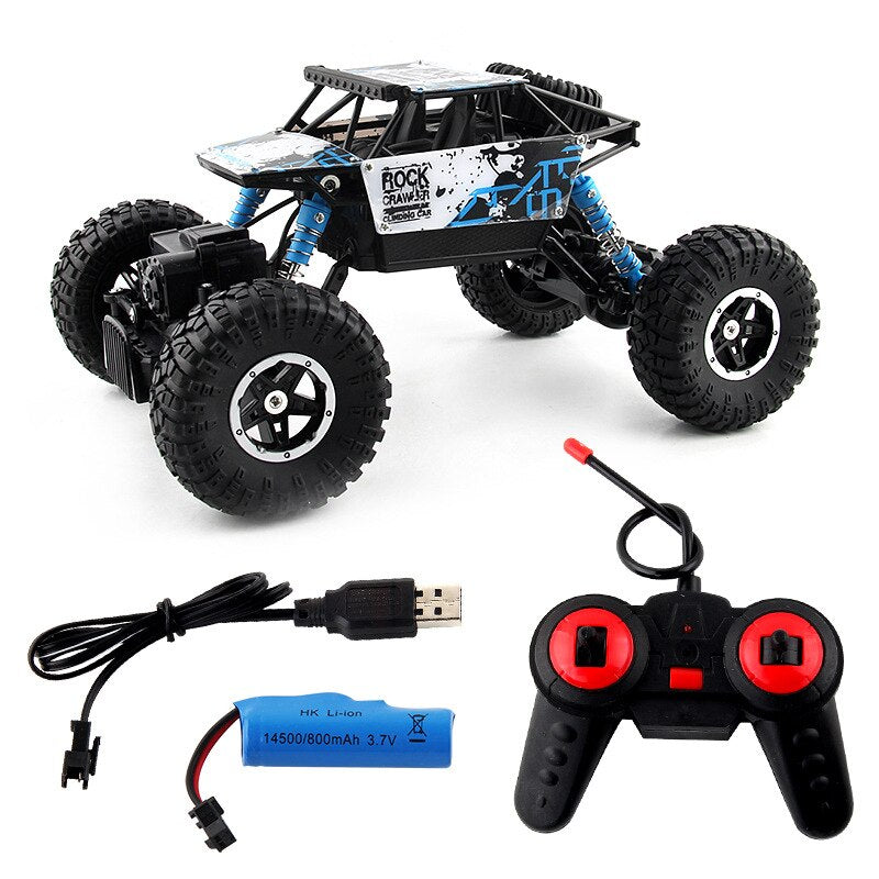 1:16  4WD High-speed Off-road Car 2.4G Radio Controlled RC Climbing Car Model Remote Control Buggy Trucks Toys For Children