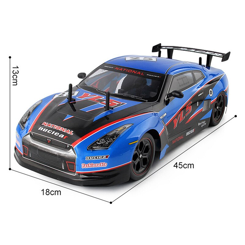 2.4G 4WD RC Racing Car 1:10 Drift Radio Remote Control Toy Car Model High Speed Off-Road Vehicle Electric Toys For Boy Kids Gift