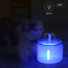 Image of 2.4L LED Electric USB Dog Pet Mute Drinker Feeder Automatic Pet Cat Water Fountain Bowl Pet Fountain Drinking Water Dispenser