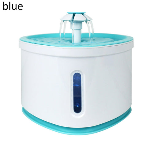 2.4L LED Electric USB Dog Pet Mute Drinker Feeder Automatic Pet Cat Water Fountain Bowl Pet Fountain Drinking Water Dispenser