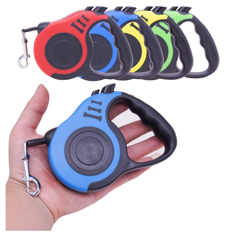 3/5m Dog Leash Automatic Retractable Pet Dog Cat Leash 2019 Puppy Auto Traction Rope Lead Leashes Pet Collars Harnesses Leads