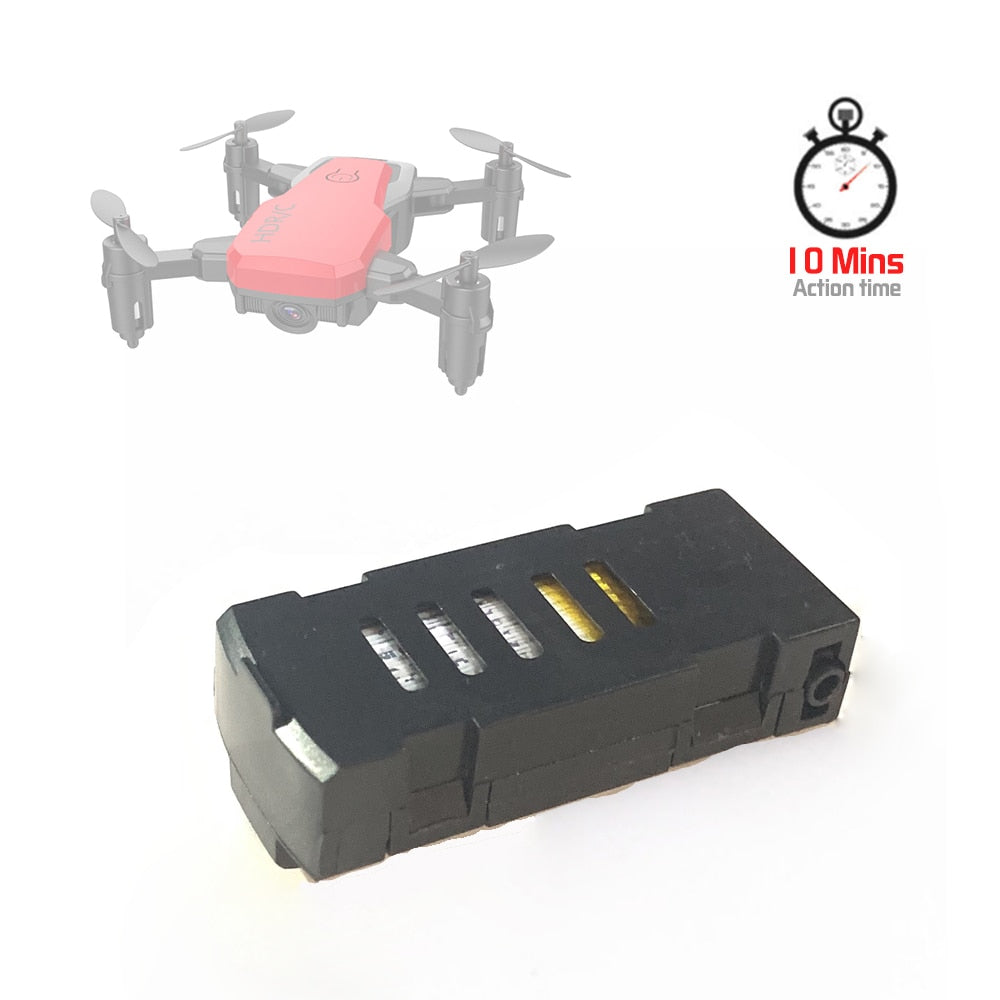 D2 Mini Drone With Original Battery 3.7V 450mAh Action Lipo Battery Rechargeable Spare Parts For RC Drones Battery For D2