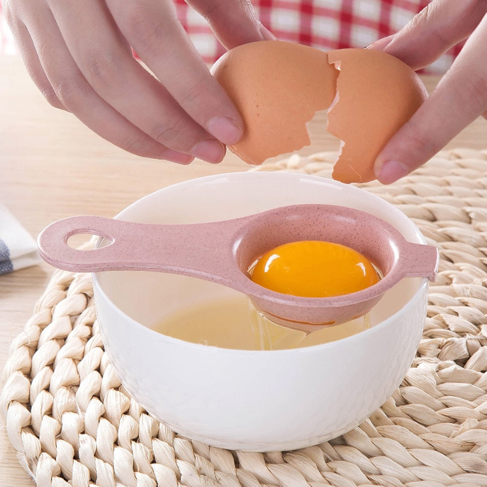 Dropship Kitchen Eggs Tool Egg Yolk Separator Food-grade Egg Divider Protein Separation Hand Eggs Gadgets Kitchen Accessories