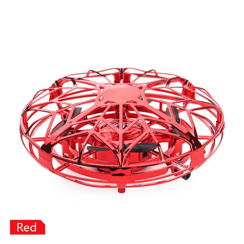 Hot Flying Globe Helicopter Anti-collision Mini Drone UFO RC Drone Infraed Induction Aircraft Quadcopter Upgrade RC Toys For Kid