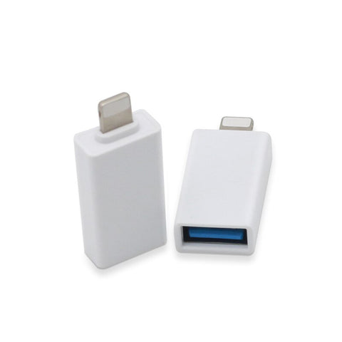 OTG USB Adapter Charging Adapter Powering External Devices Charging Transmission Connector for Iphone