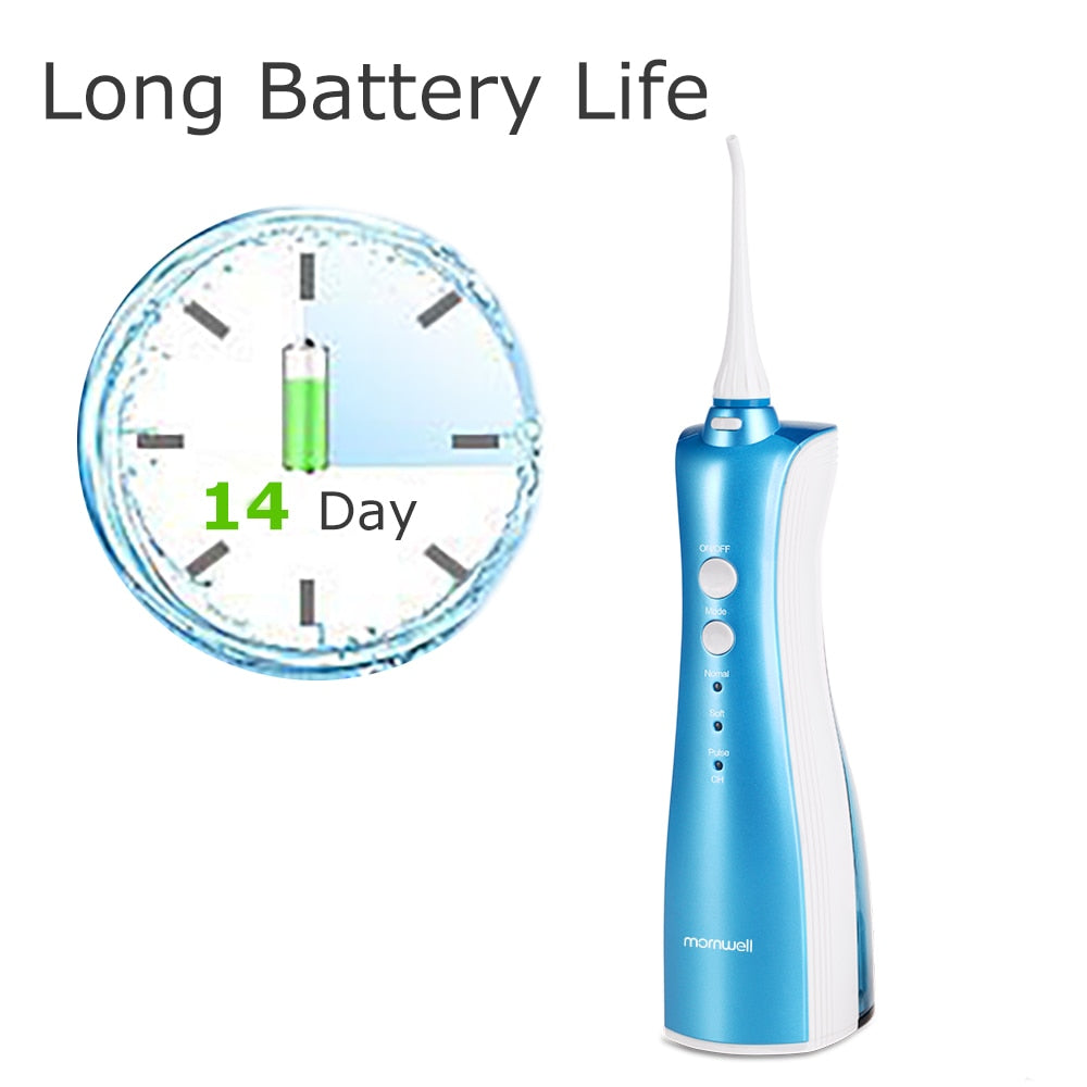 Oral Irrigator rechargeable water flosser teeth clean portable dental water jet inductive charging irrigador dental Exquisite
