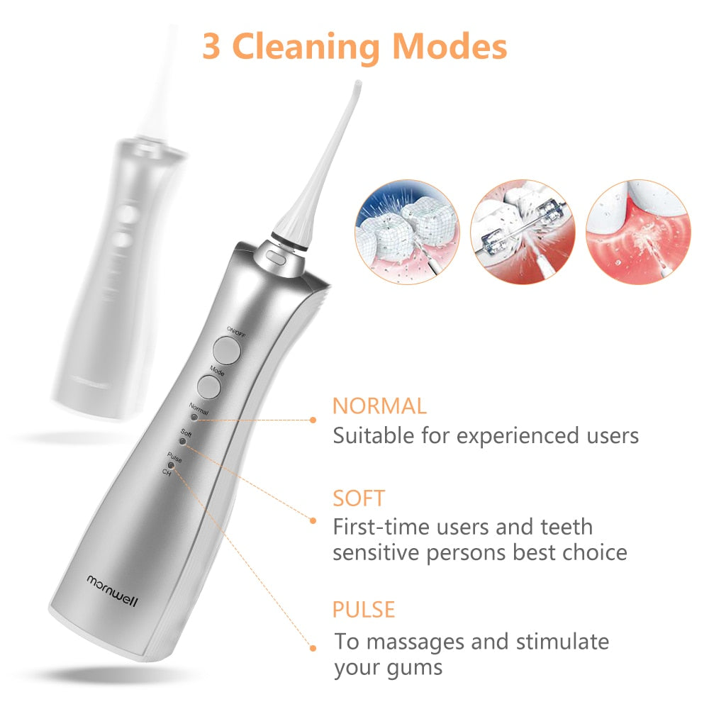 Oral Irrigators Adults Electric Oral Irrigator Portable Water Flosser inductive Rechargeable Battery Dental Water Flosser Teeth