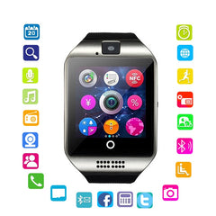 Q18 Smart Wearable Phone Watch Motion Bluetooth Card Smart Watch Multinational Language