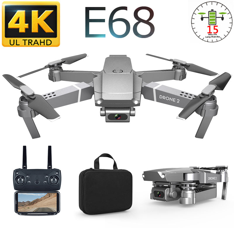 RC Drone 4K Camera With Aerial Video RC Helicopter Quadcopter 1080P Camera Drone Profissional Optical Flow Stable Height VS GD89