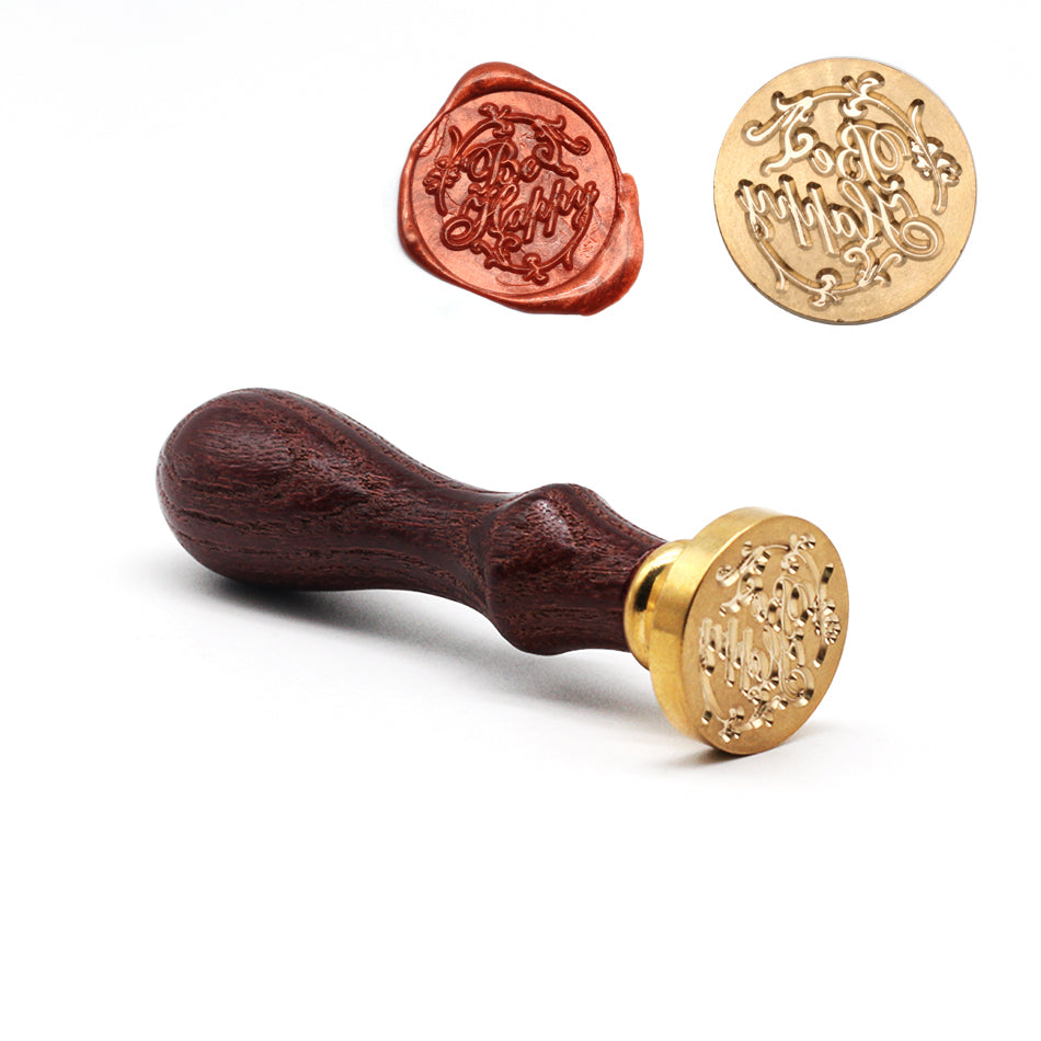 Retro Wood Sealing Wax Stamp Holiday Series Wax Seal Stamps Decorative Birthday  Merry Christmas Weddin Invitation Sealing Stamp