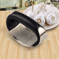Stainless Steel Garlic Presses Manual Garlic Mincer Chopping Garlic Tools Curve Fruit Vegetable Tools Kitchen Gadgets