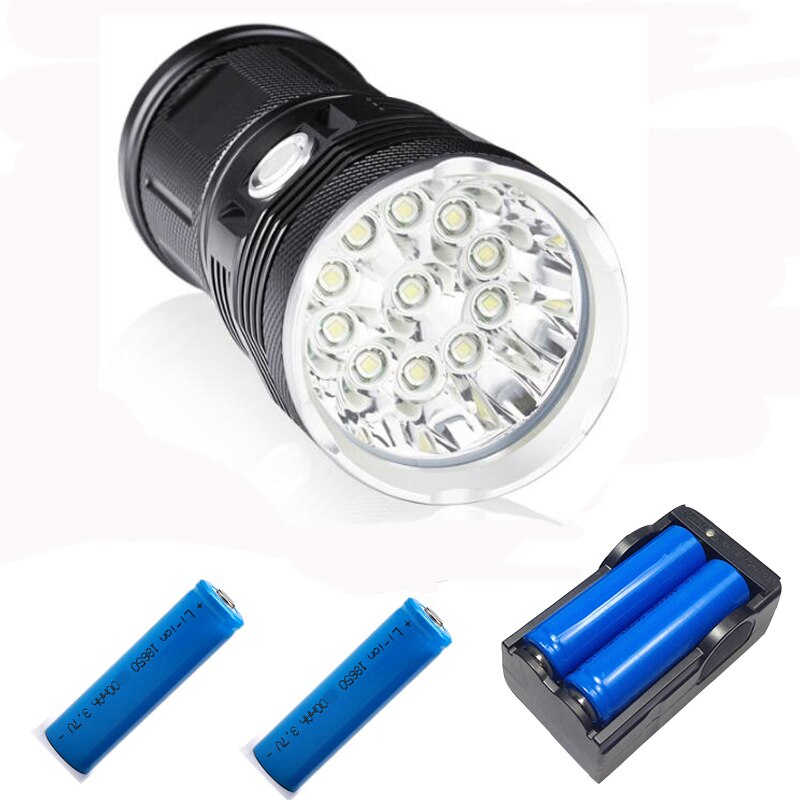 Super Bright Flashlight 14*T6 DT70 LED Outdoor lighting waterproof floodlight,torch,lantern,camping light, lamp, Hunting