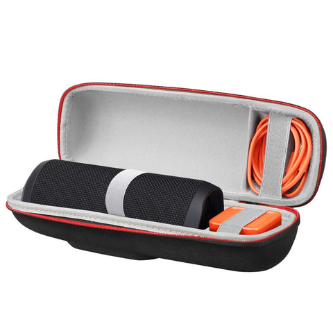 Tedgem Carrying Case Portable Speaker Bag With Carabiner Hocks for Bluetooth Speaker Box