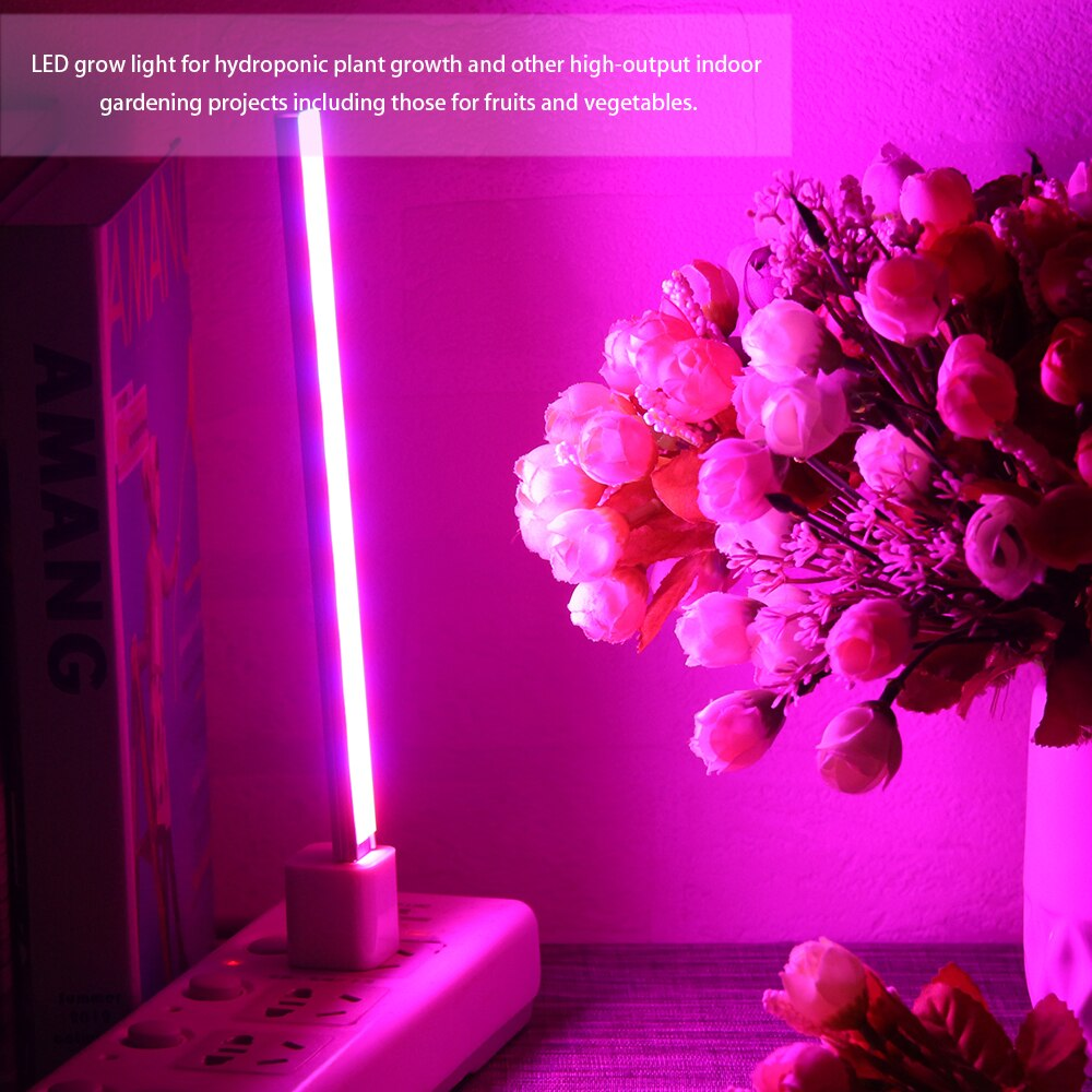 USB DC 5V 14/27 LED Grow Light 3W 5W Red&Blue Hydroponic Plant Growing Light Bar for Desktop Plant Flower Growing Full spectrum