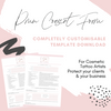 PMU Client Consent Form Template