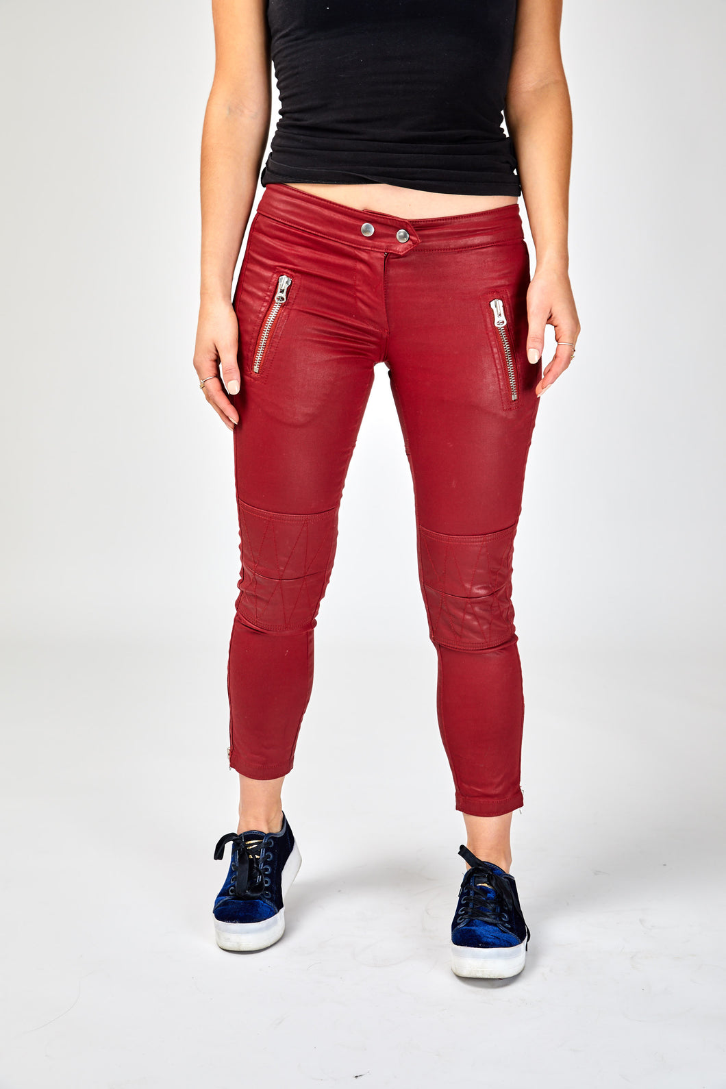 Isabel Marant Leather Trousers