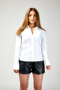 Hugo Boss Blouse with Side Zip Detail