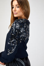 Load image into Gallery viewer, ASOS Embellished Bomber Jacket