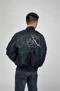 "Unsigned Reversible Bomber Jacket ""Vienna"""