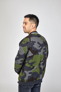 Golden Goose Reversible Camouflage Cardigan