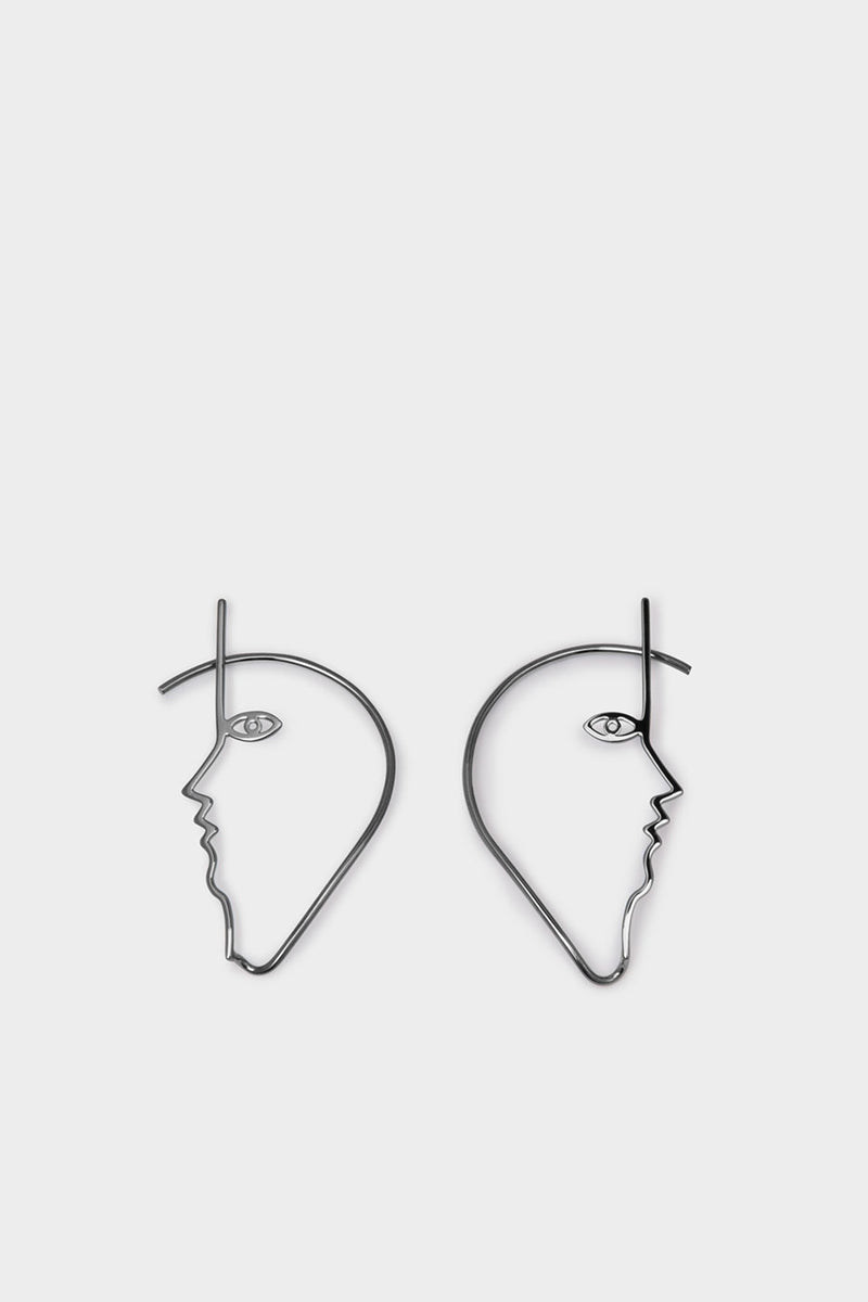 dina-ear-cuff-ruthenium-plated