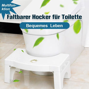 Faltbarer & Multifunktionaler Toilettenhocker