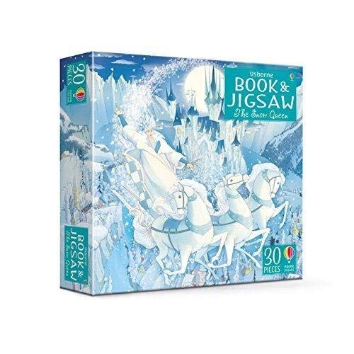 The Snow Queen (Usborne Picture Book and Jigsaw)