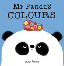 Load image into Gallery viewer, Mr Panda's Colours Board Book