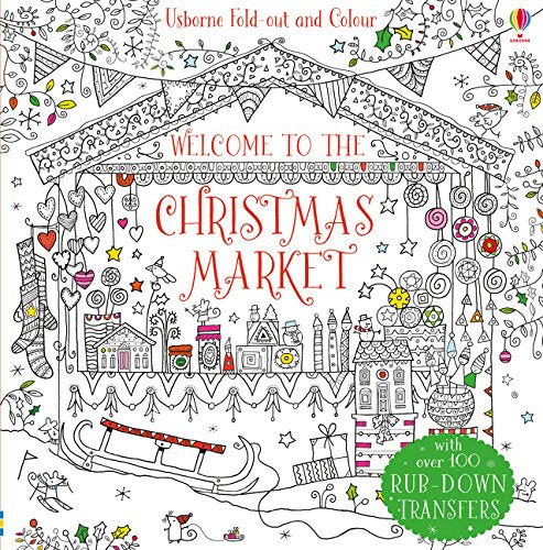 Welcome to the Christmas Market (Fold-out and Colour)